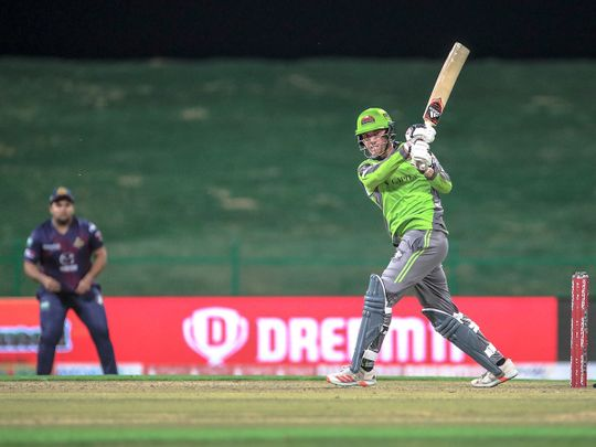 Qalandars defeated Deccan Gladiators in the Abu Dhabi T10 League