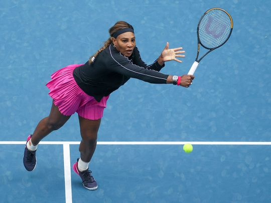 Serena Williams wins on her warm-up to the Australian Open