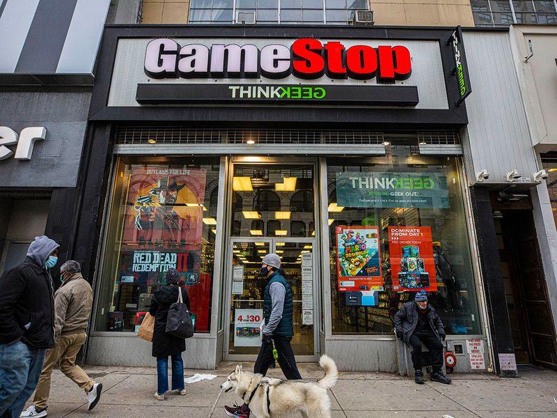 Stock GameStop