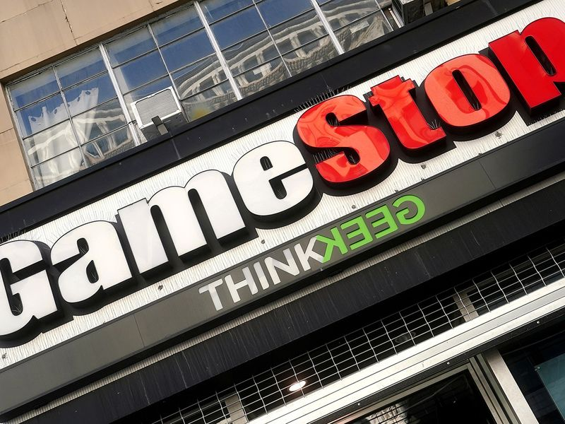 GameStop share ride: shooting star or rocket to the moon?
