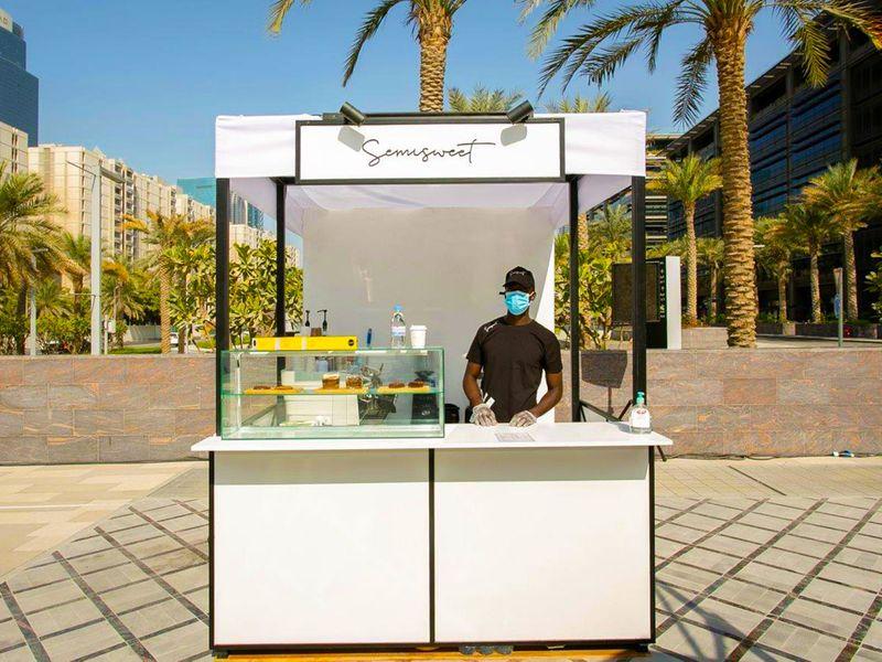 Brand Dubai Food Truack pop up