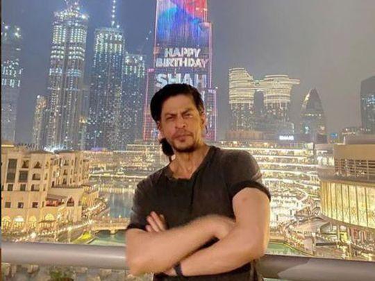 Shah Rukh Khan at Burj Khalifa