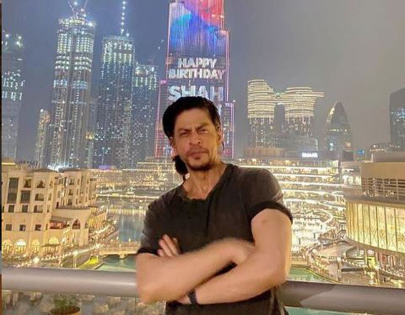 Shah Rukh Khan at Burj Khalifa