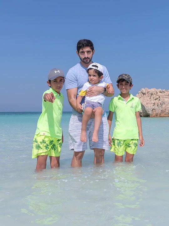Sheikh Hamdan bin Mohammad Al Maktoum, the Crown Prince of Dubai,
