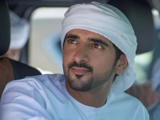 Sheikh Hamdan bin Mohammad Al Maktoum, the Crown Prince of Dubai