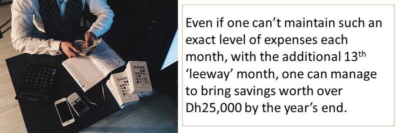 3-step saving strategy