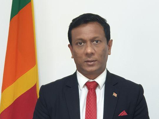 Nalinda Wijerathna, Consul General of Sri Lanka in Dubai & Northern Emirates