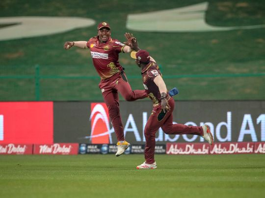Northern Warriors defeated Deccan Gladiatiors in Abu Dhabi T10