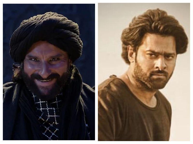 Saif Ali Khan and Prabhas