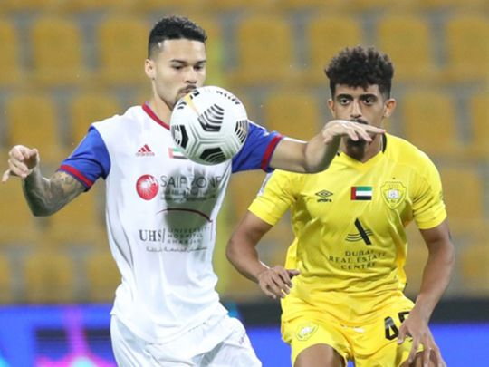 Sharjah travel to take on Al Wahda in the AGL
