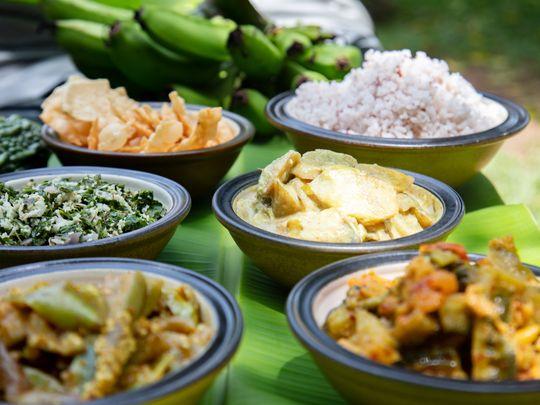 Sri Lankan dishes at Plantation Villa