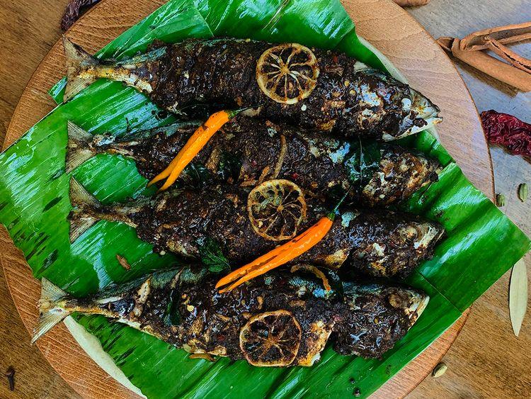 Sri Lankan sour fish curry