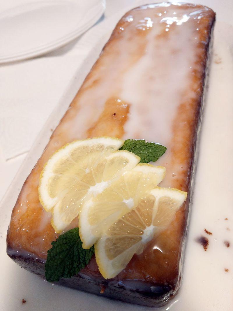 lemon, cake