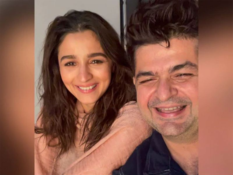 Dabboo Ratnani and Alia Bhatt