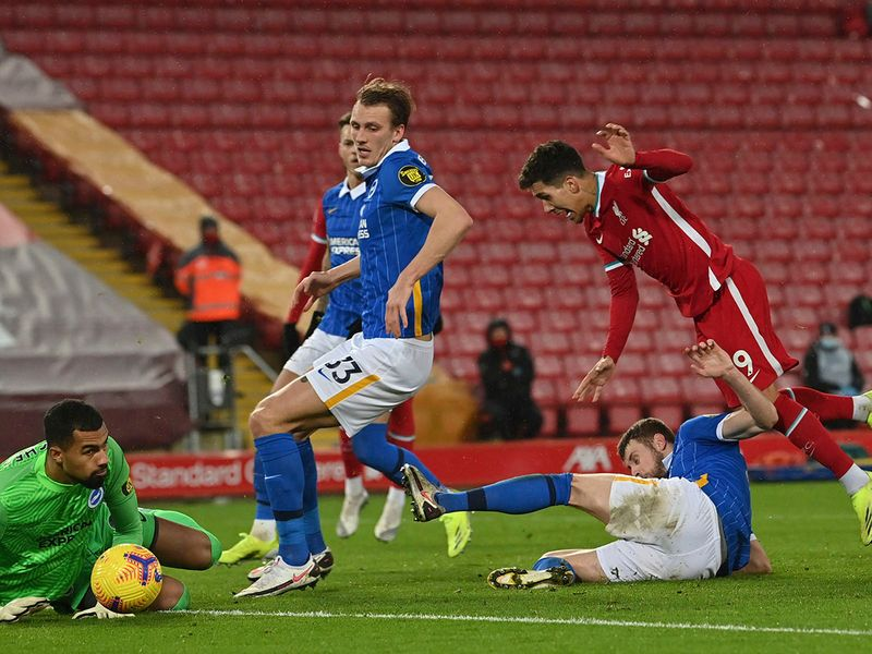Liverpool vs Brighton. Feb 3, 2021.