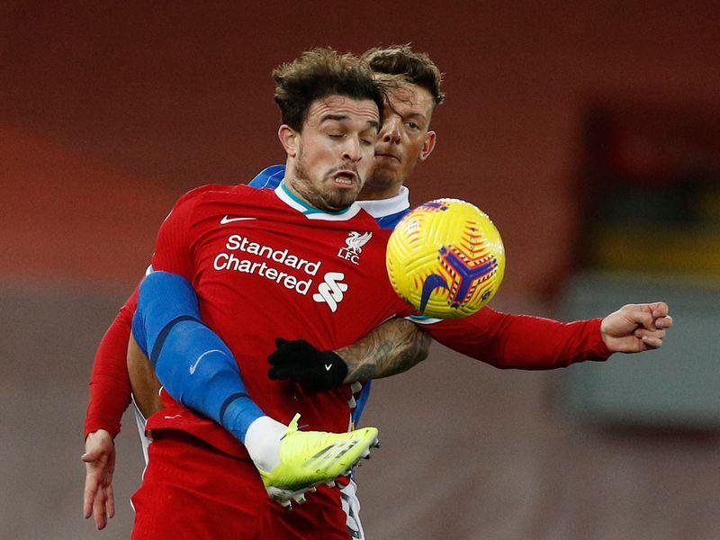 Liverpool vs Brighton. February 3, 2021.