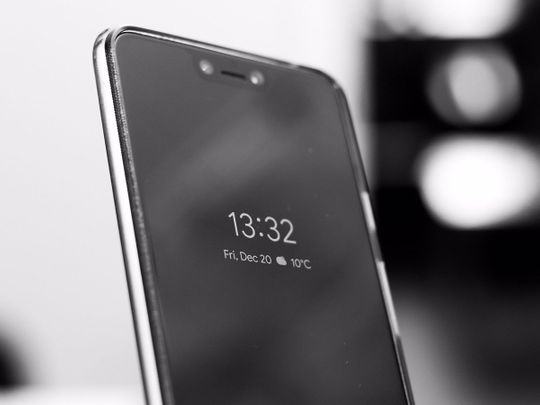 STOCK android smartphone