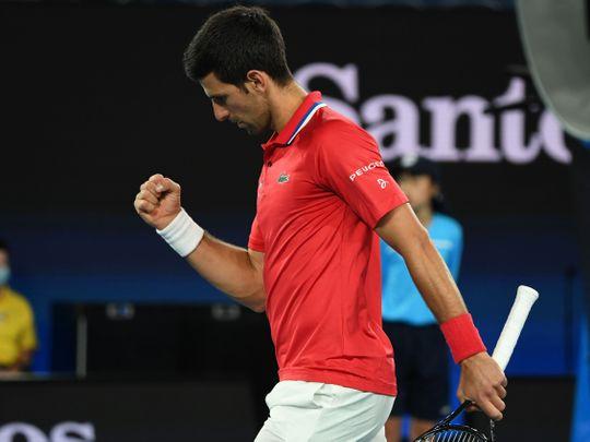 Tennis-Djokovic in ATP Cup