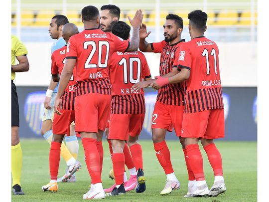 Al Jazira defeated Al Dhafra 5-1