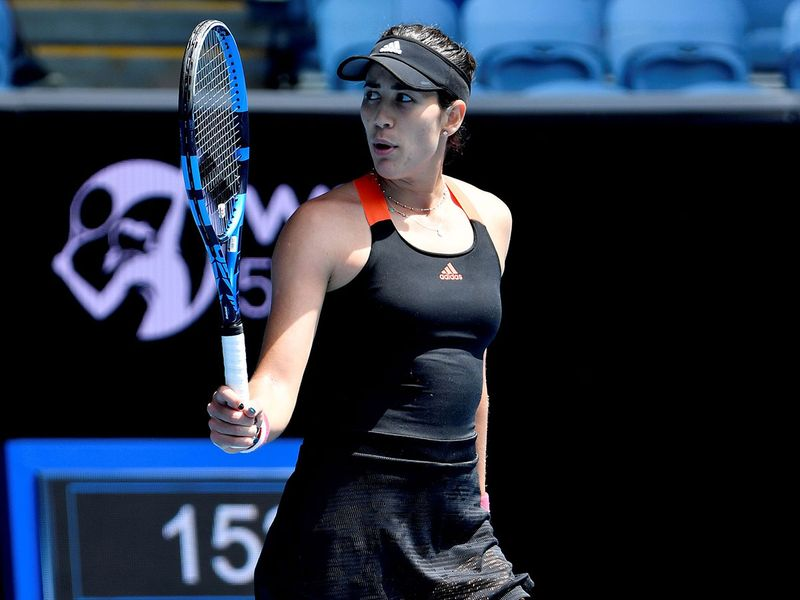 Garbine Muguruza is through to the Yarra Valley Classic final