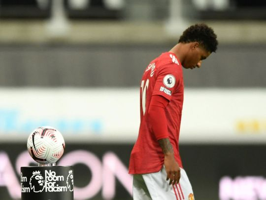 Manchester United players have been among those abused on social media recently
