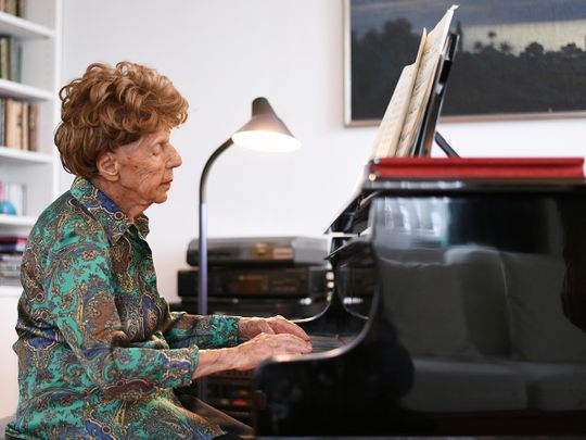 Pianist Colette Maze