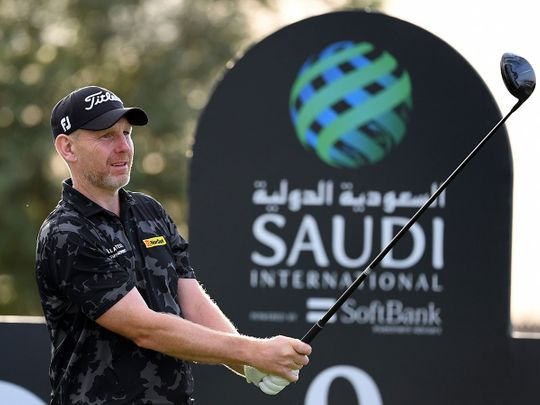 Stephen Gallacher shares the lead with Ryan Fox at the Saudi International