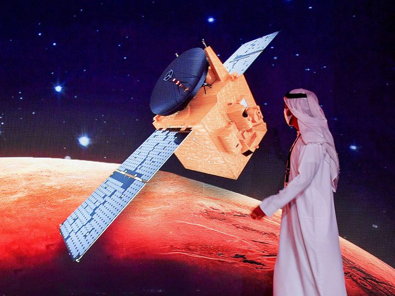 Image result for UAE's Hope spacecraft