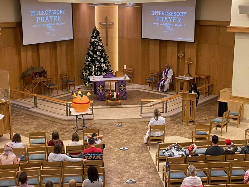 Christmas Day Mass at St Andrew's Church-1612674896208