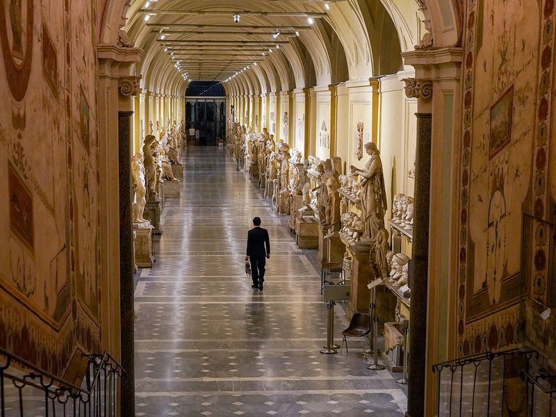Vatican key keeper gallery