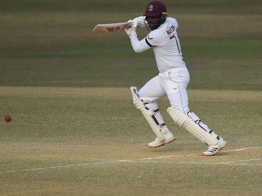 West Indies' Kyle Mayers