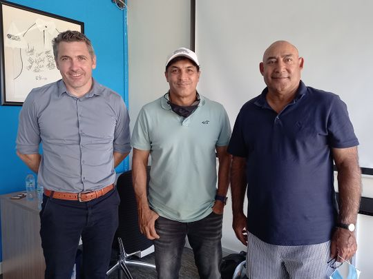 Cricket-UAE trio