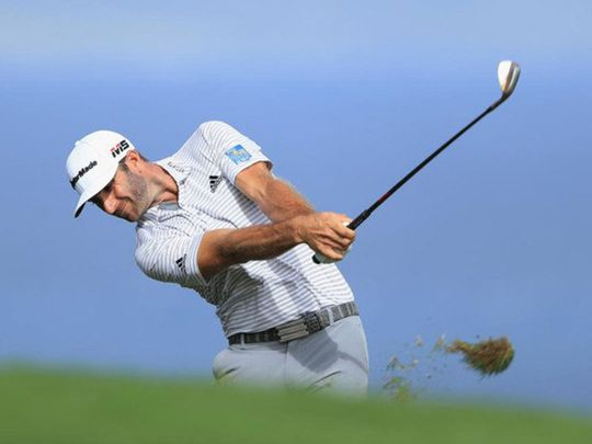Dustin Johnson won the Saudi International for a second time in three years