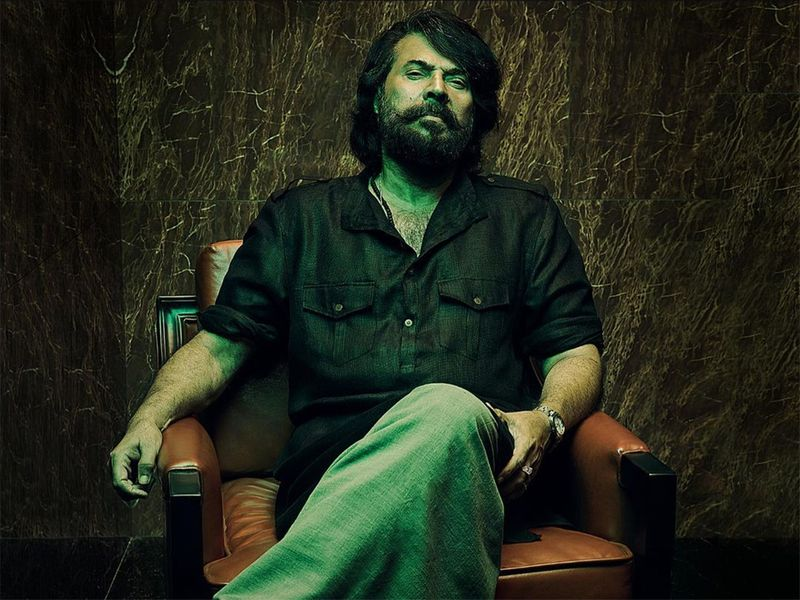 Mammootty in the poster for Bheeshmaparvam