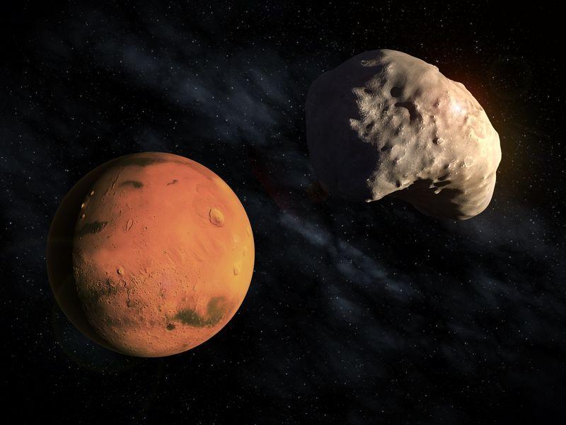 Mars moon