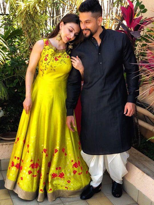 Soha Khan and Kunal Khemu