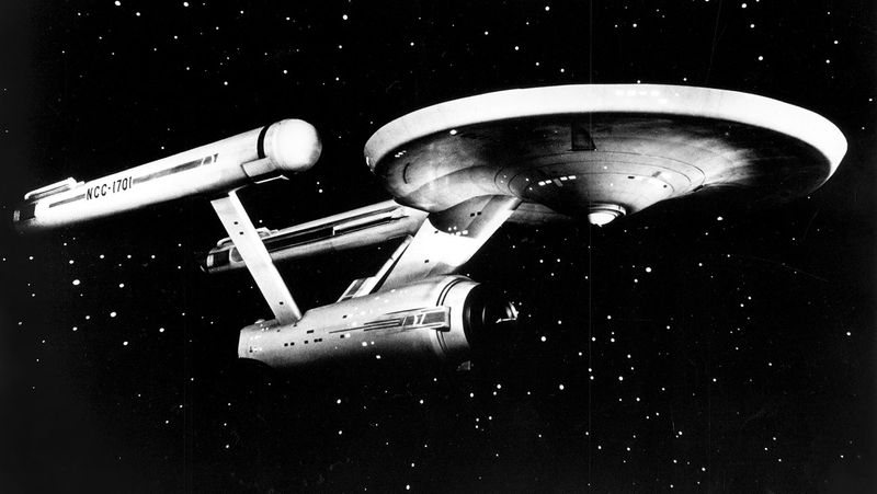 Star Trek's Starship USS Enterprise