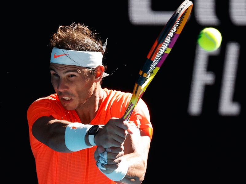 Rafael Nadal cruised at the Australian Open