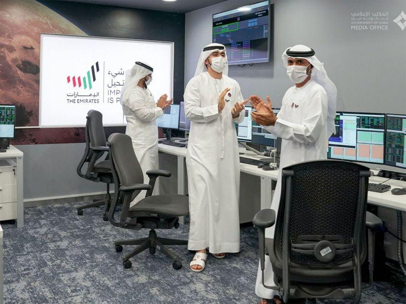 UAE leaders laud Hope Probe success