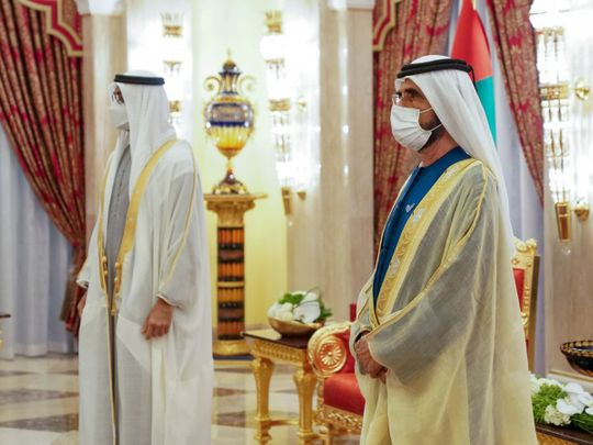 Cabinet reshuffle uae sheikh mohammed