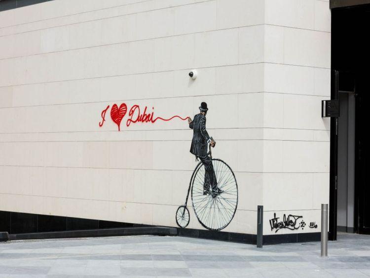 City Walk art