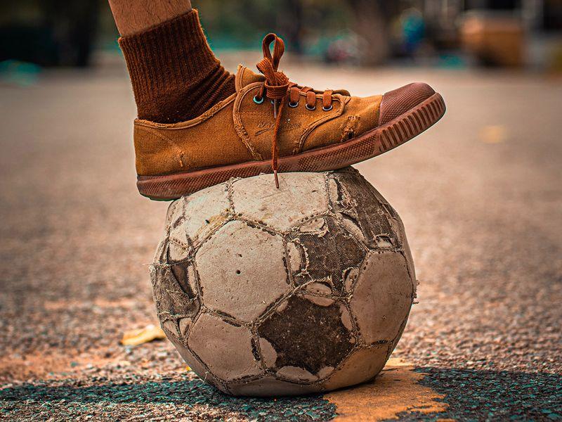 Football stock image.