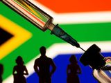South Africa flag vaccine