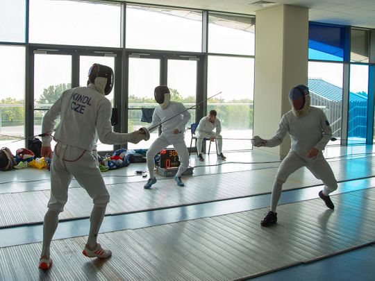The Czech Olympic Modern Pentathlon and fencing teams are training in Dubai