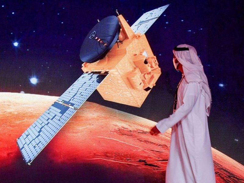 UAE Hope Probe reaches Mars' orbit safely