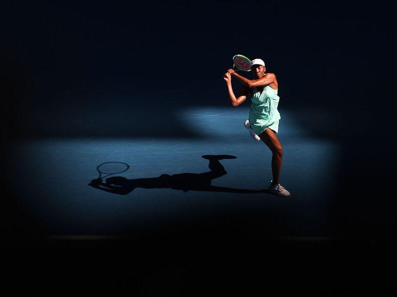 Venus Williams got injured in the Australian Open