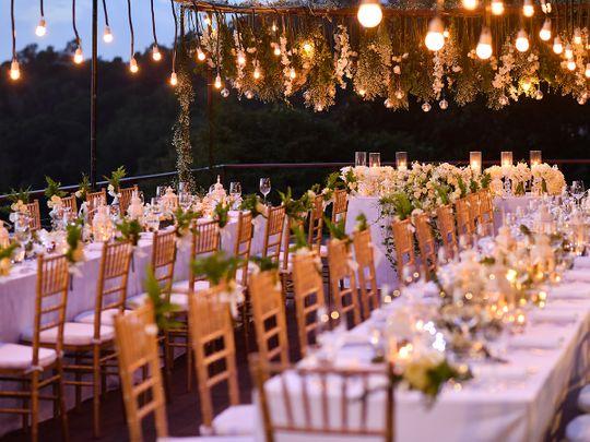 wedding party hall