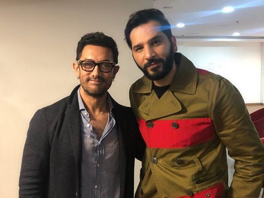 Aamir Khan and Nitinn R Miranni