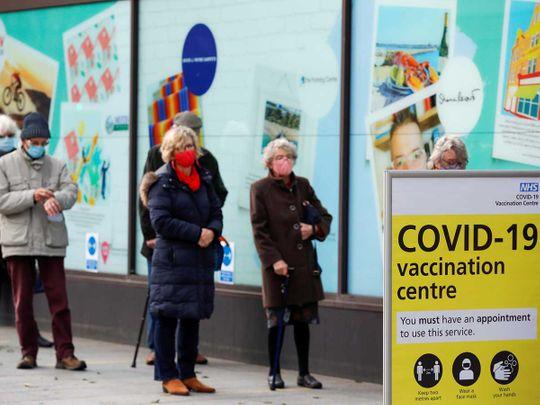 Britain vaccine covid