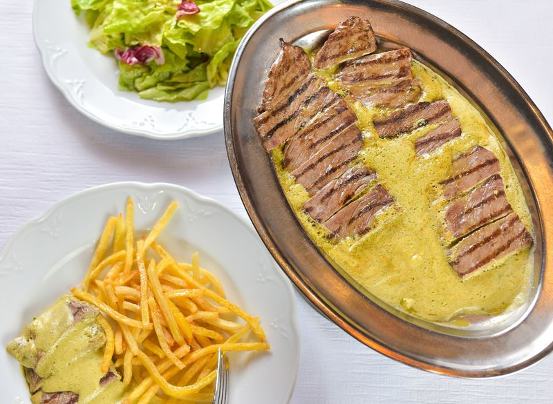 Entrecote Cafe De PAris